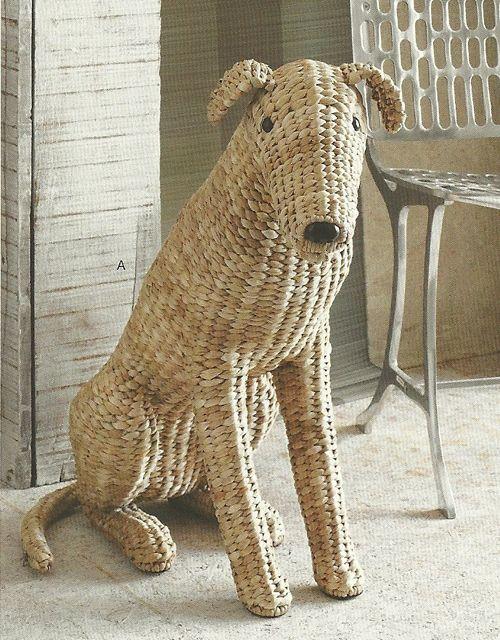 woven dog