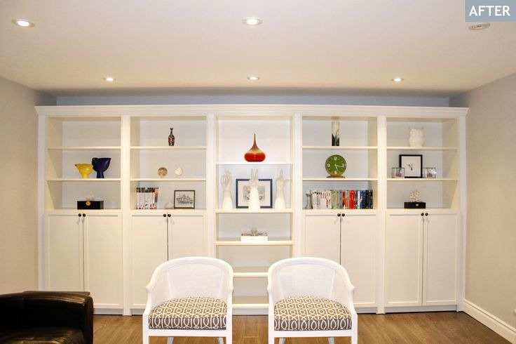 Just like a lot of you, I lust a wall-to-wall built-in bookcase/shelf/unit in soft white paint. Not only will it serve as a focal point in a...