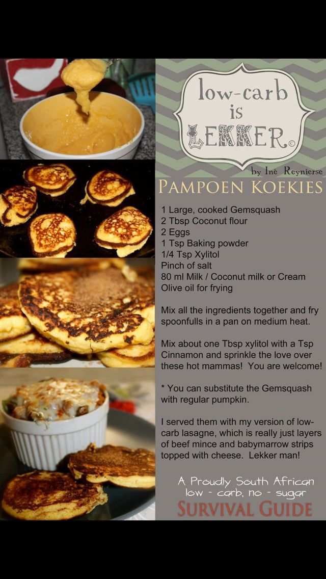 Pampoen koekies - favourite part of Christmas lunch