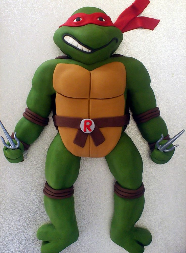 Ninji Turtle Cakes Teenage Mutant Ninja Turtle Raphael