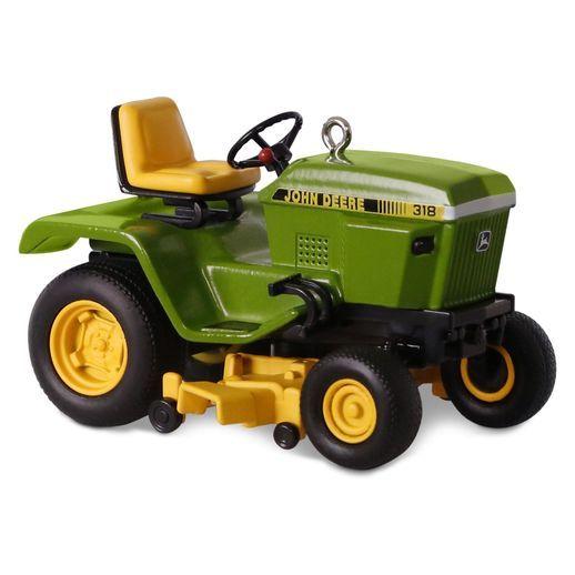 John Deere 318 Garden Tractor Ornament