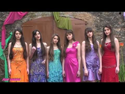 Religious band with 7 sisters: Amén -  Flos Mariae