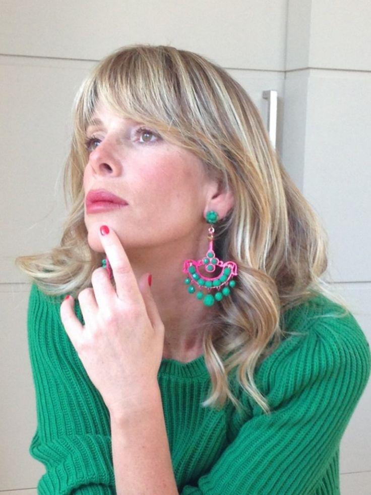 La Pinella - Alessia Marcuzzi - Candy verde fuxia.