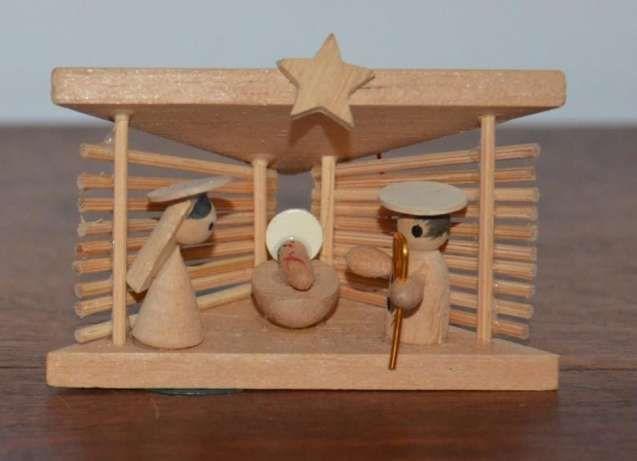 Mini presepe in legno - 7.0 x 3.5 x 4.7 cm Urgezes - Immagine 1