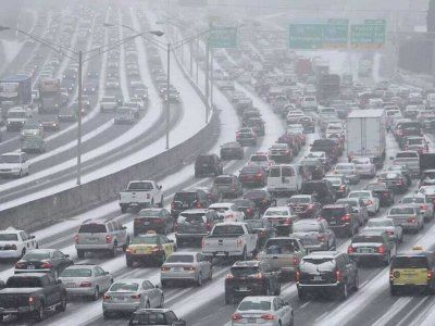 Snow Wreaks Havoc In Atlanta - Business Insider