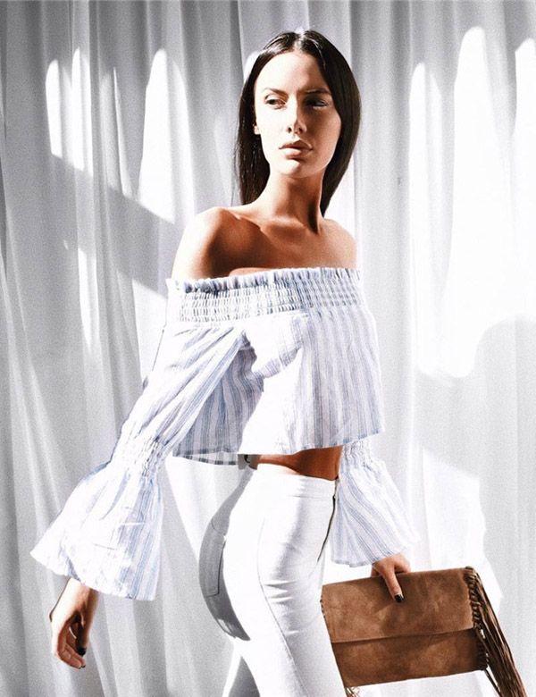 Pinterest board: @desi_galapagos Striped High Street Shirt