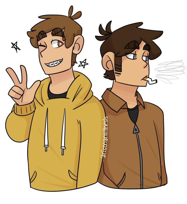 brian (left) and tim (right)