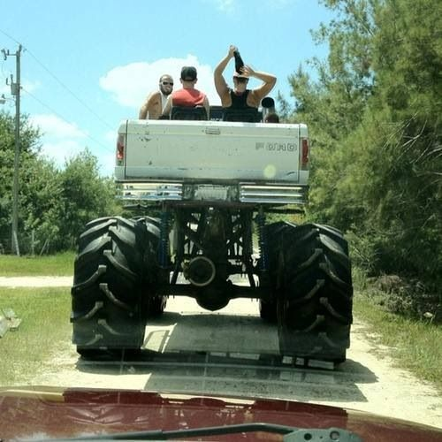 Now that's what I call lifted!