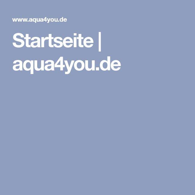 Startseite | aqua4you.de
