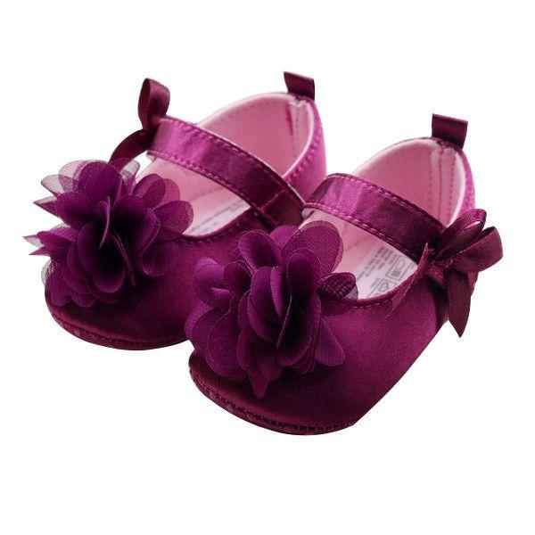 Kids Bowknot Flower Shoes