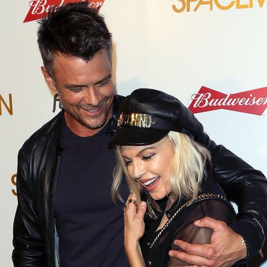 Fergie and Josh Duhamel at Spaceman Premiere August 2016