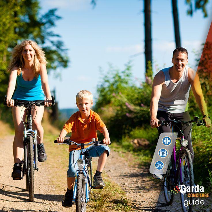 GardaConcierge Guide: Vacanze in Famiglia – Percorsi Facili in Bicicletta @gardaconcierge