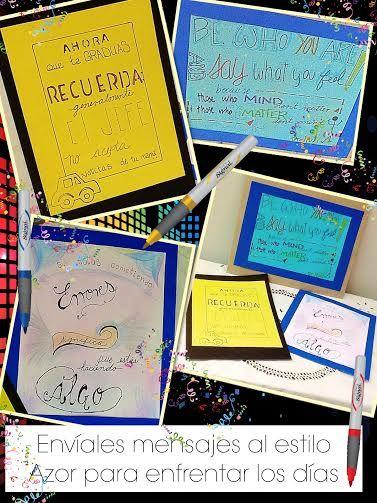 ¿Se gradúa? ¡Llénal@ de notas de color y entusiasmo!  #EsDeAzor