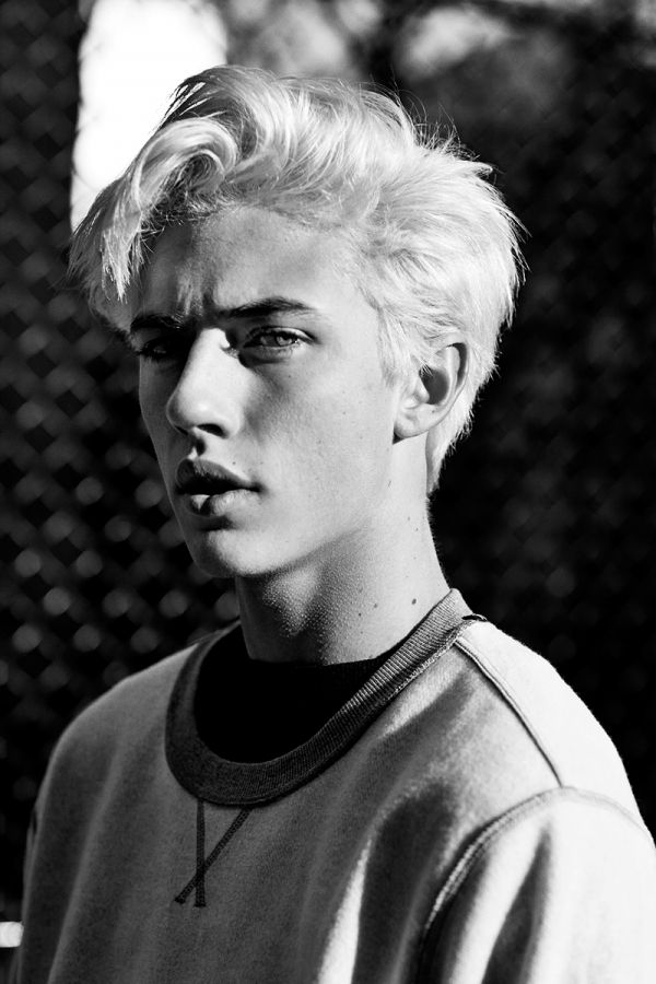 Lucky Blue Smith  : more pictures from Lucky's shoot for Associated...