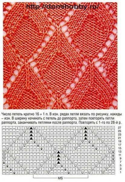 Von Protsenka, aber Original und viele weitere Muster (vor allem für Häkelfans) auf domihobby.ru