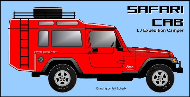 Lj Expedition Camper Quot Safari Cab Quot Custom Hardtop Project