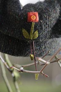 Landlust - Strickset Tweed Tasche