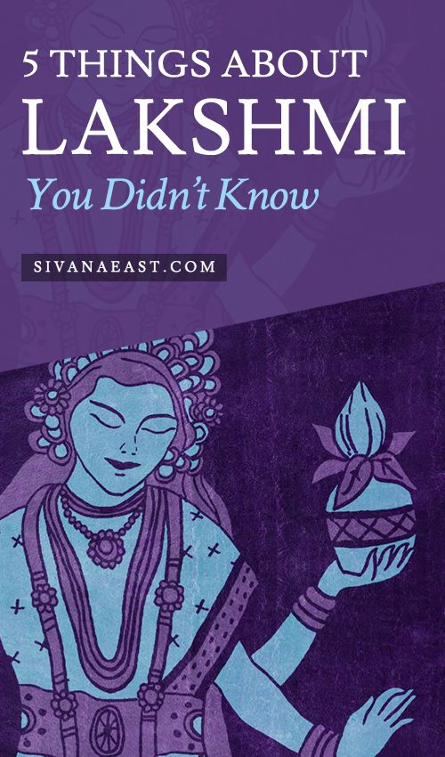 5 Things About Lakshmi You Didn't Know