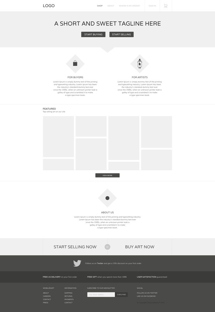 Simple wireframe
