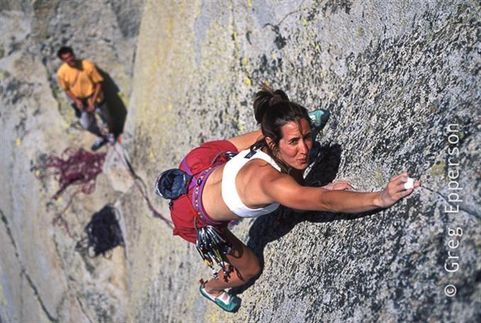 female extreme climber and - photo #25