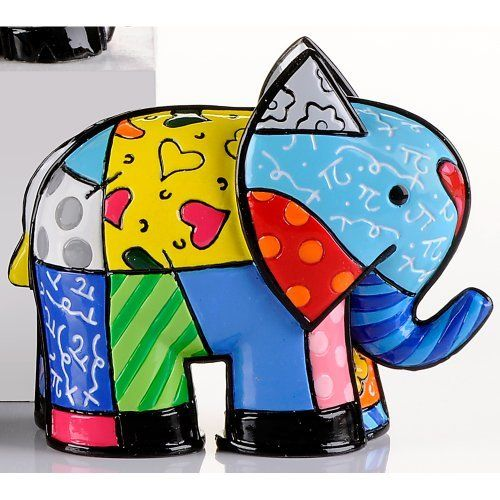 Romero Britto Mini Elephant, India 2012 Edition  http://www.amazon.com/dp/B008UY0RZQ/ref=cm_sw_r_pi_dp_q7oUrb0K713NA