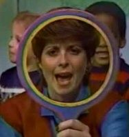 Romper, bomper, stomper boo. Tell me, tell me, tell me, do. Magic Mirror, tell me today, have all my friends had fun at play?""