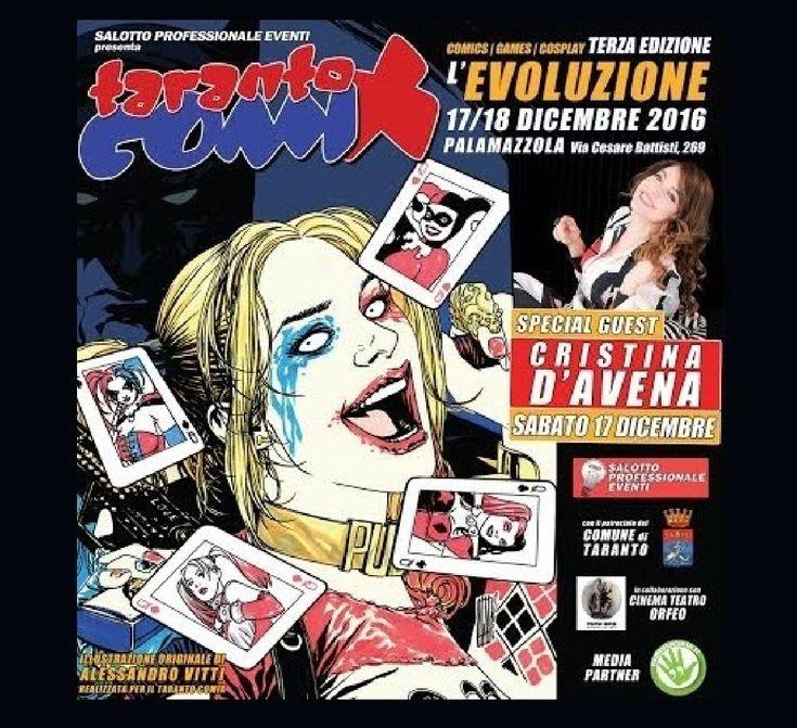 Arriva Taranto Comix con gare di cosplay, disegno fumetti e giochi
