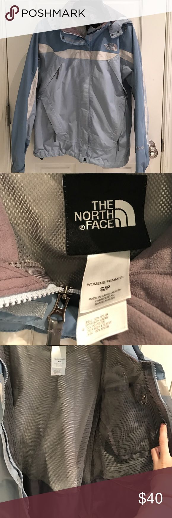The North Face Light Blue Hyvent Winter Coat Great condition. Super warm water resistant coat. Great for winter. The North Face Jackets & Coats Puffers