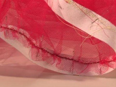 DIY sewing petticoat