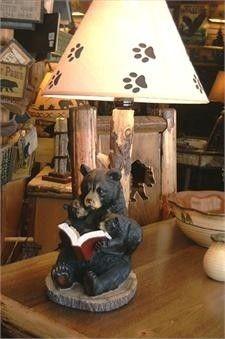 Black Bear Lamp - Foter