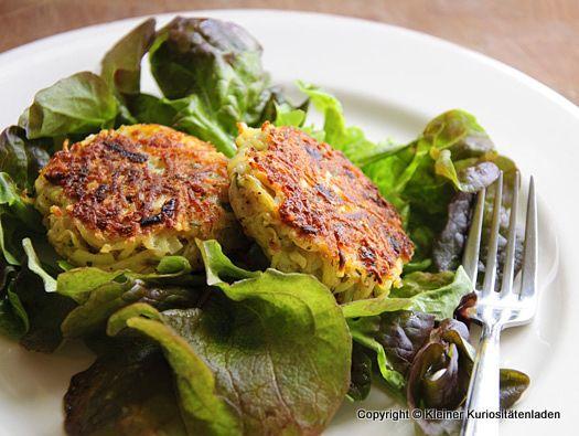 Kleiner Kuriositätenladen: Kartoffel-Minz-Küchlein mit Feta