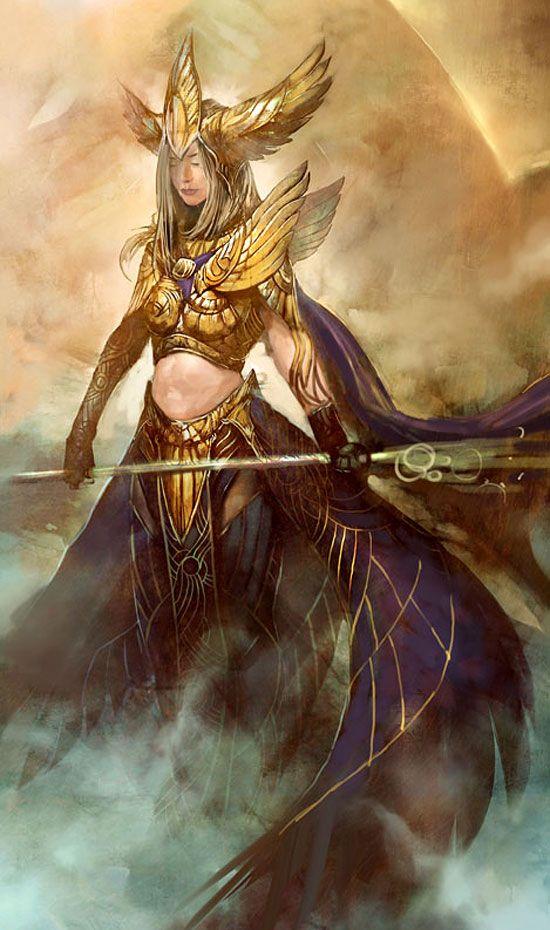 Dwayna armor (skin) - [Guild Wars 2]