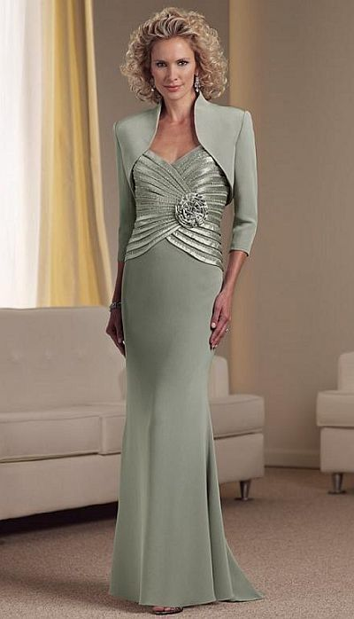mother of the bride dresses | Montage by Mon Cheri Mother of the Bride Dress 111900 image