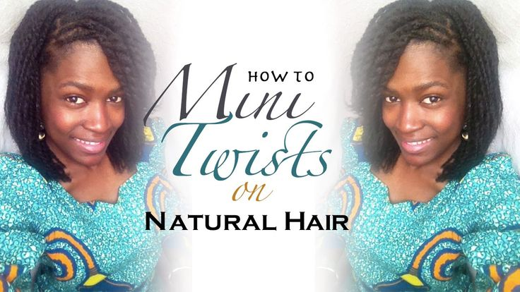 """How to Mini Twists 