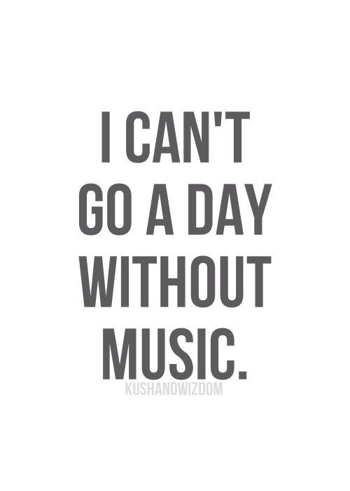 For me...Music is synonymous with Oxygen. My life requires both. The absence of either one would result in death.