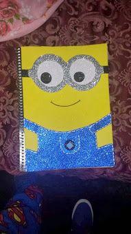 ideas para forrar cuadernos                                                                                                                                                                                 Más