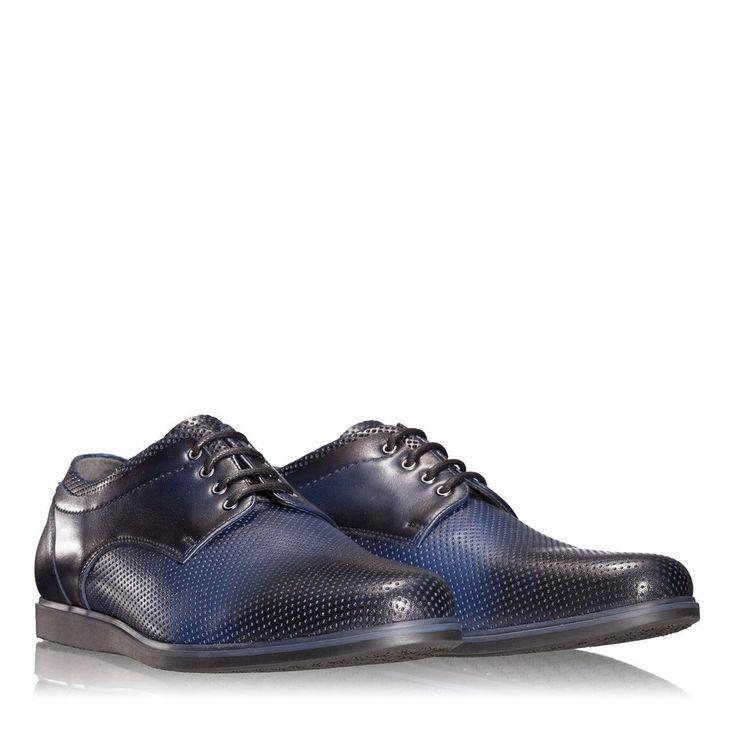 Anna Cori - Incaltaminte, genti si accesorii - Pantofi 2819 VIT FORO BLUE