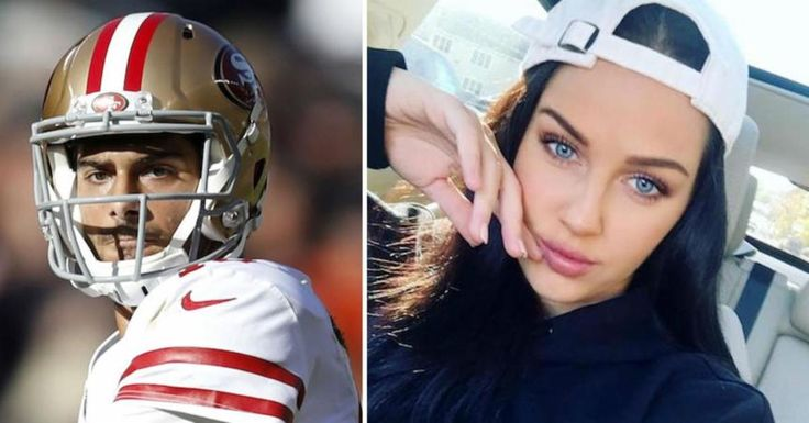 Jimmy Garoppolo Appears to Be Dating a Smoking Instagram Model  ||  Life is good for Jimmy Garopollo . After toiling in Tom Brady's shadow for three years, the quarterback was shipped off to the 49ers last year , upgrading New England for the Bay Area in the process. He killed it once he got to San Francisco, leading the Niners to five straight wins and earning himself a massive contract to become the…