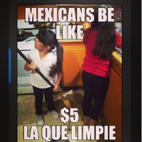 This be my mom when she is trying to convince me and my cousins to clean. WHERE IS MY $5 MOM! (╥﹏╥)