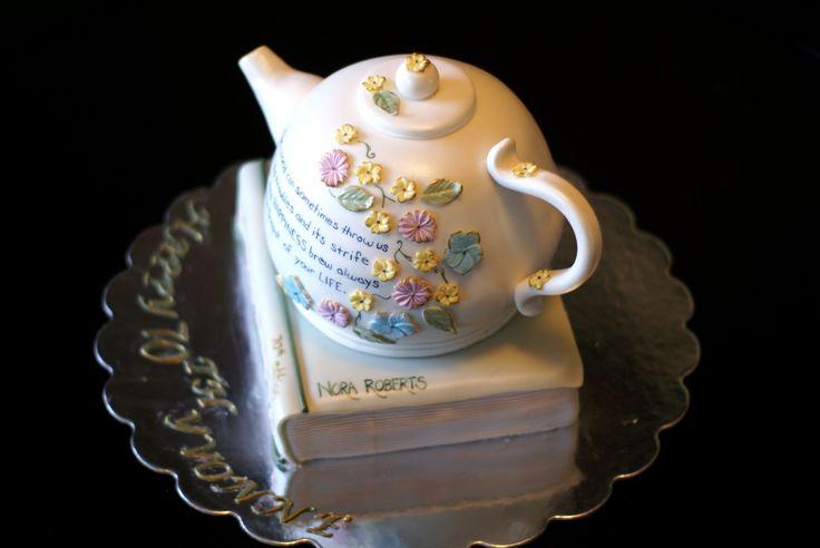 Teapot & Book cake