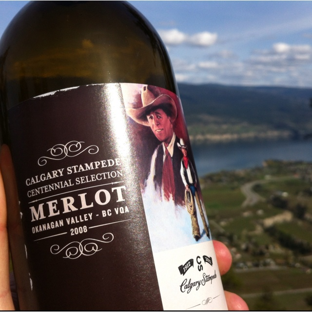 Township 7 Vineyards & Winery in the Okanagan, Canada:  this year's official Calgary Stampede wine.