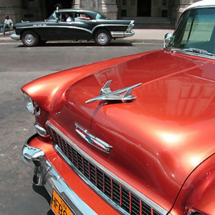 Classic car from cuba