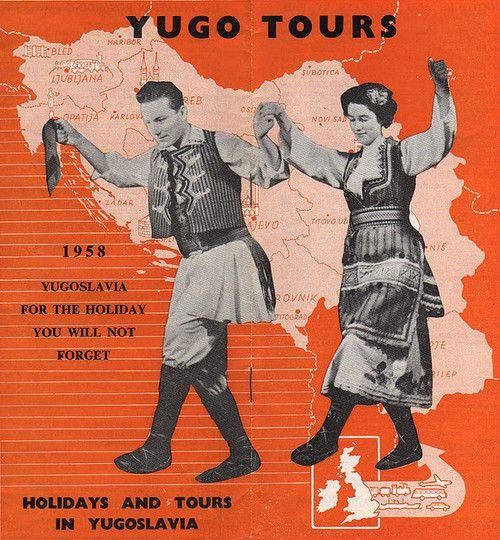 Yugotours brošura, 1958.