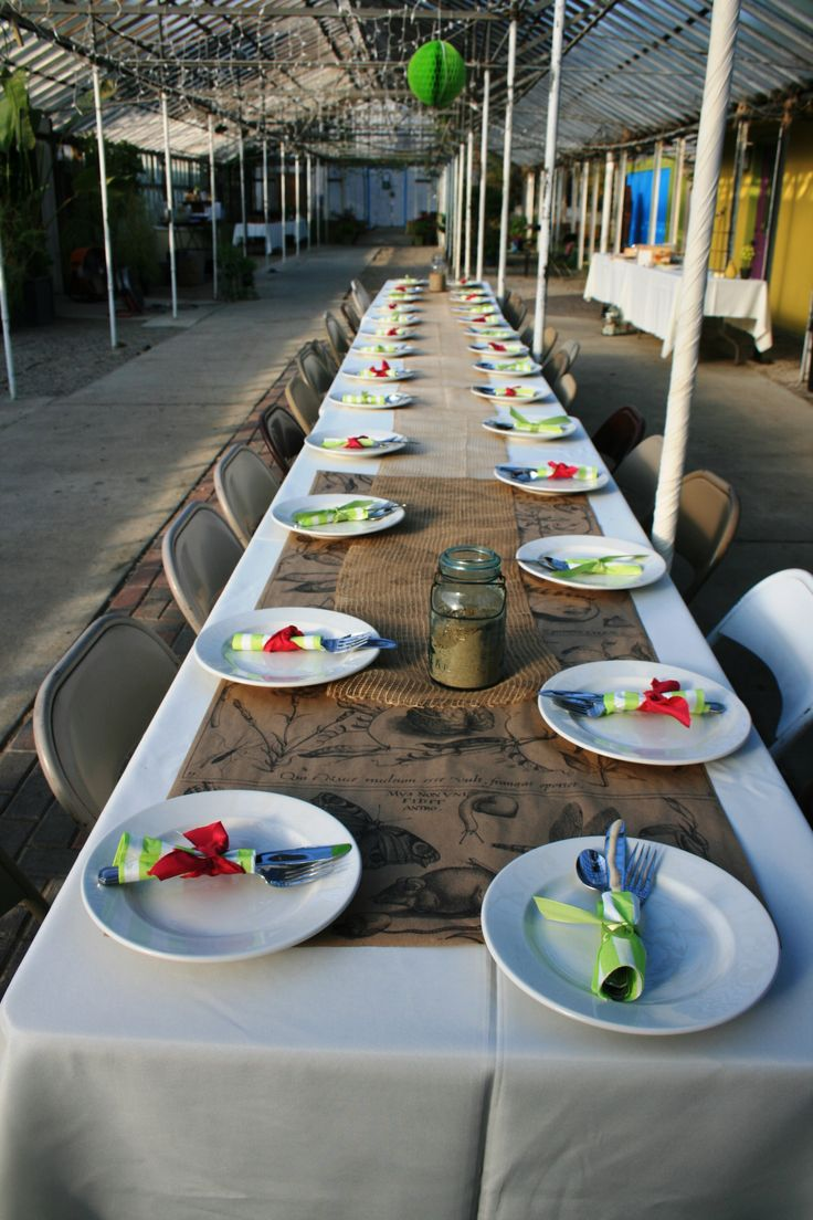 22 best g w events 39 perennial house 39 images on pinterest Simple table setting for lunch