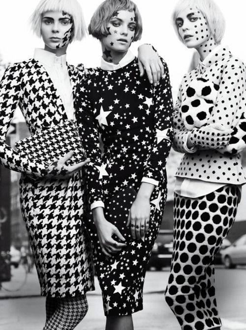 dots all over the place #fashion
