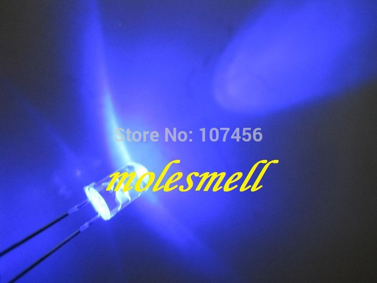 10000pcs 5mm Ultra Bright Blue LED+Fast Shipping 5mm light-emitting diode 5mm water clear round blue led