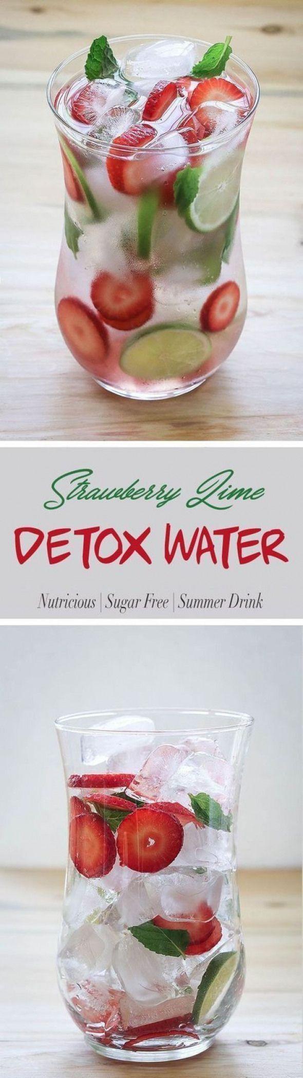 9 Detox-Wasser-Rezepte zur Gewichtsreduktion glühende Haut des flachen Bauches reinigt …, …   – Detox Drinks fat burning
