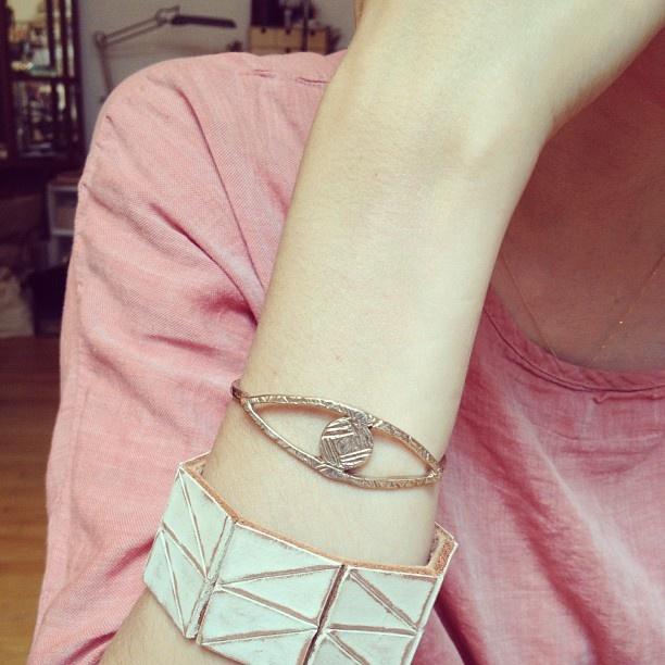 lauren manoogian: Gods Eye, Odette Gods, Eye Bracelets
