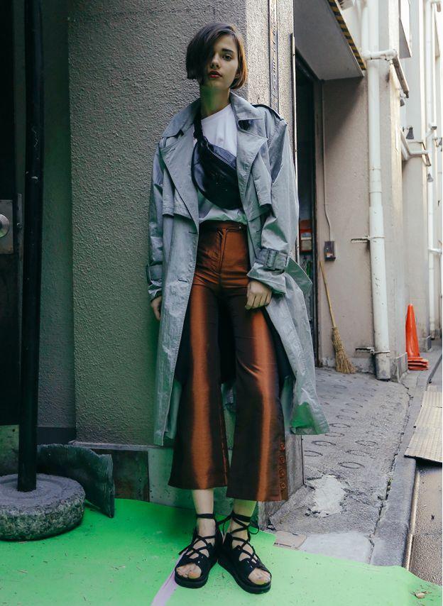 Vintage Big Coat / Gray | PERVERZE