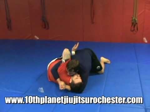 10th Planet Jiu Jitsu Technique: The Ghost. Escape from side control into sprawl control.